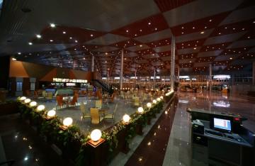 نورپردازی فرودگاه بین المللی تبریز