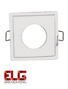 فریم لامپ سفید مربعی