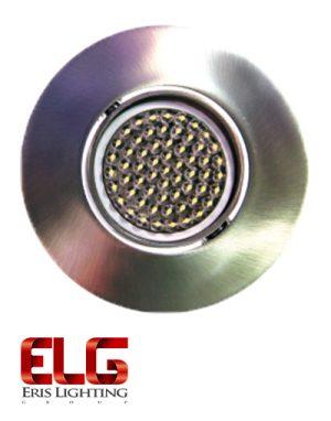 فریم لامپ دایکاست گرد نقره ای