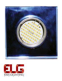 فریم لامپ نقره ای مربعی