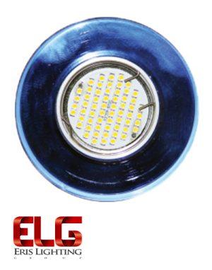 فریم لامپ نقره ای گرد