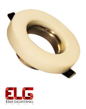 فریم لامپ کورین گرد سفید