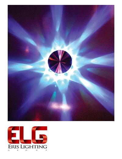 چراغ دکوراتیو هشت جهته نقره ای