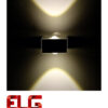 چراغ دکوراتیو مکعبی دو طرفه