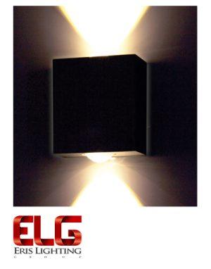 چراغ دکوراتیو دو طرفه مکعبیچراغ دکوراتیو دو طرفه مکعبی