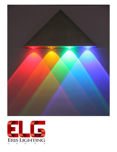 چراغ دکوراتیو مثلثی یک طرفه