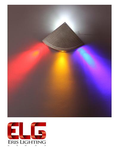 چراغ دکوراتیو ربع استوانه ای