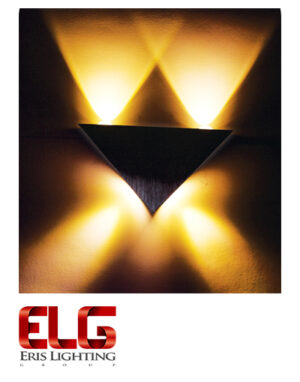 چراغ دکوراتیو مثلثی سه طرفه