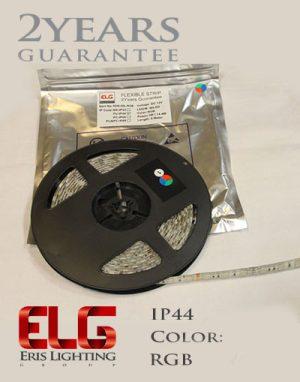 ریسه نواری 12 ولت SMD تراکم 60 نور RGB