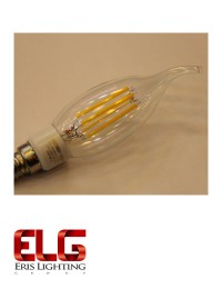 لامپ فیلامنتی 4 وات لوستری