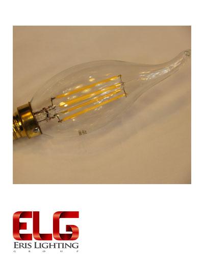 لامپ فیلامنتی لوستری 3 وات