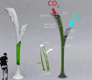 درخت مصنوعي با توانايي توليد نور