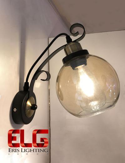 چراغ دیواری شیشهای مدل 8068