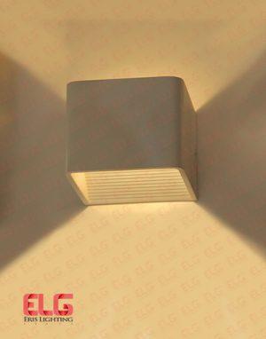 چراغ دکوراتیو مکعب بدنه سفید