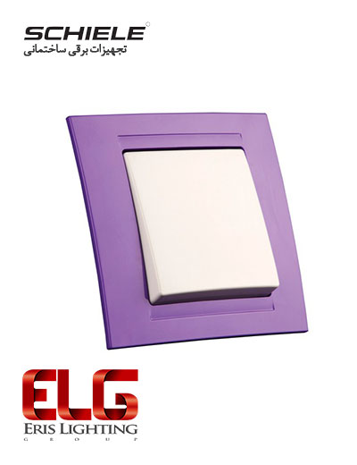 کلید و پریز Schiele مدل Moderna رنگی