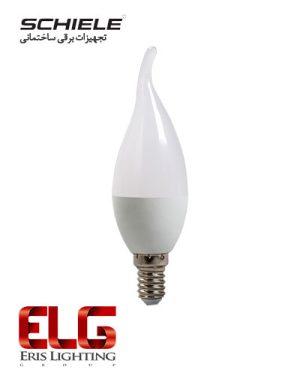 لامپ LED شمعی 5 وات شیله