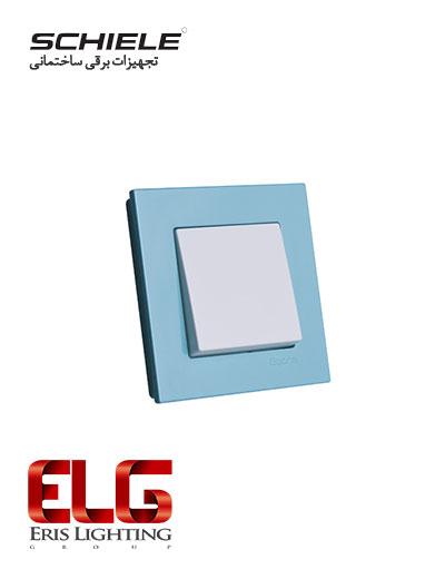 کلید و پریز Schiele مدل Eqona دور رنگی