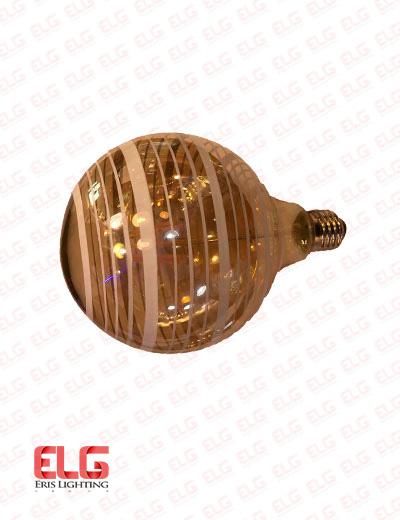 لامپ فیلامنتی 8 وات شیشه شامپاینی