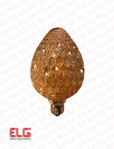 لامپ فیلامنتی شیشه شامپاینی 8W