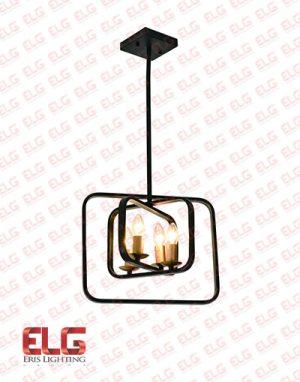 چراغ آویز سقفی ۴ شعله مدل EL-160425-4