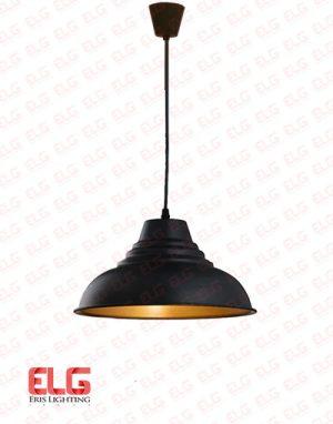 چراغ آویز سقفی مدل EL-1691-BKG