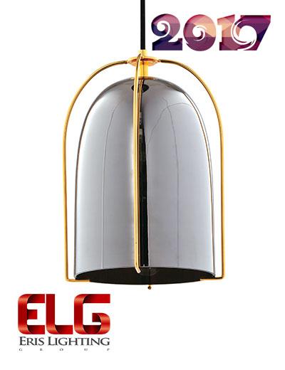 چراغ آویز شیشهای جدید مدل EL-141708BC