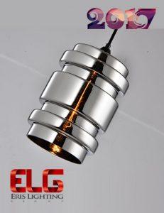 چراغ آویز شیشهای جدید مدل EL-141721CH