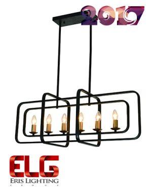 چراغ آویز سقفی مدل EL-160425-6