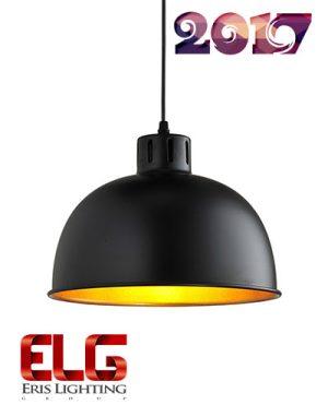 چراغ آویز سقفی مدل EL-1663D-BKG