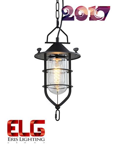 چراغ آویز سقفی مدل EL-1761-BK