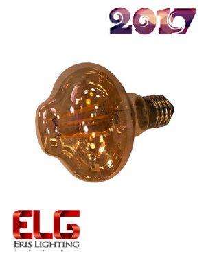 لامپ فیلامنتی 6 وات شیشه شامپاینی