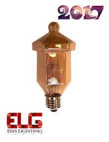 لامپ فیلامنت شیشه شامپاینی 6 وات