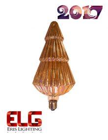 لامپ فیلامنت 10 وات شیشه شامپاینی