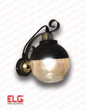 چراغ دیواری شیشهای فلزی مدل 8069