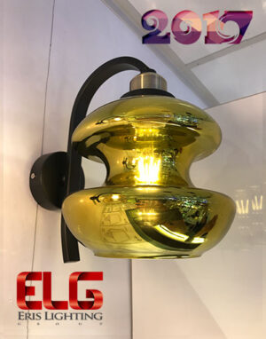 چراغ دیواری طلایی جدید مدل 8053