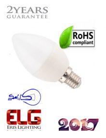لامپ LED شمعی کارامکس 6 وات