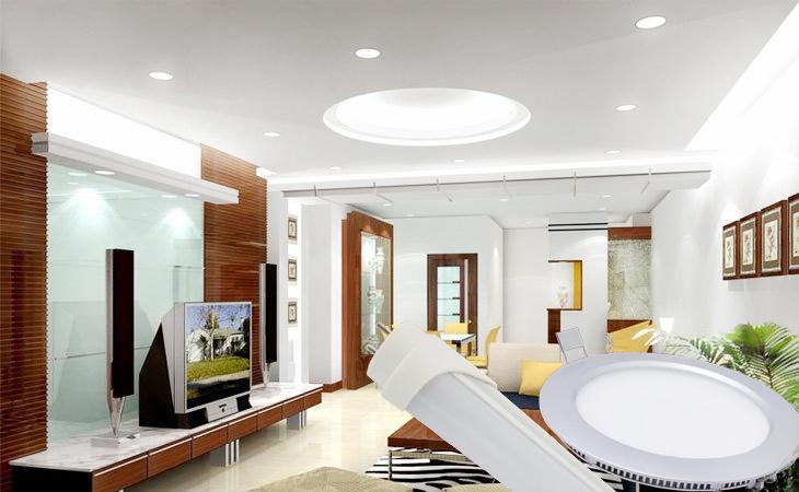 چراغ سقفی روکار LED