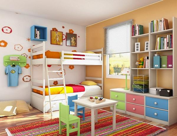 اصول نورپردازی اتاق خواب کودک