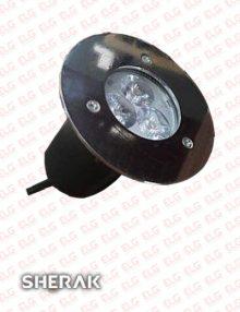 چراغ دفنی 3 وات LED شراک