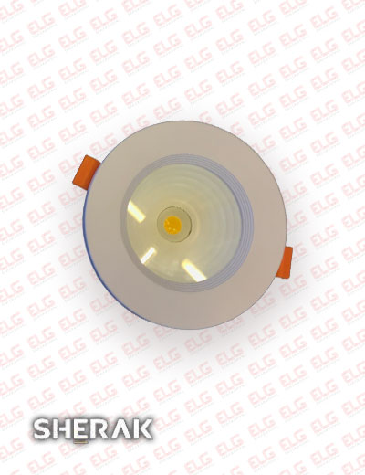 لامپ cob توکار 10 وات