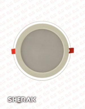 قیمت پنل دور شیشه ای شراک 12 وات SMD بک لایت