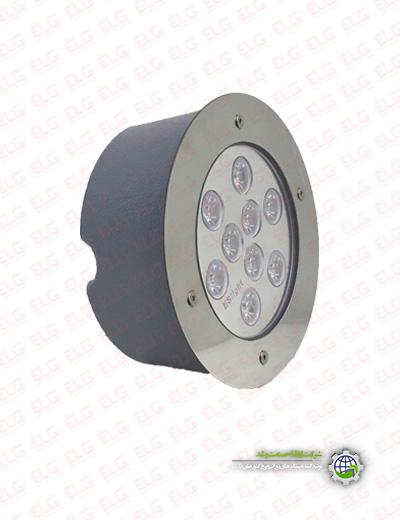 لامپ ضد آب 9 وات IP68 ال ای دی
