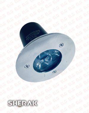 چراغ دفنی LED شراک 3 وات
