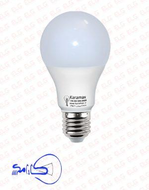 لامپ حبابی 10 وات کارامکس