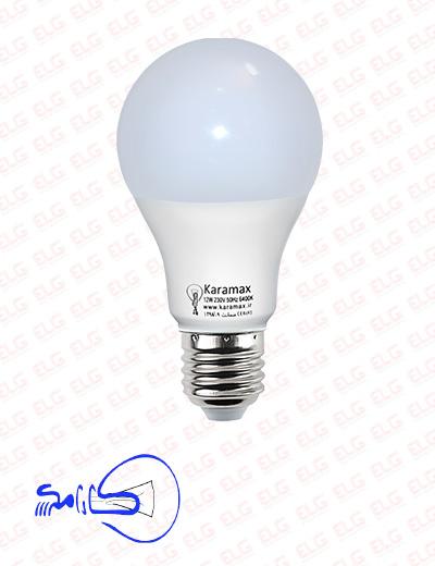 لامپ کارامکس 7 وات ال ای دی حبابی