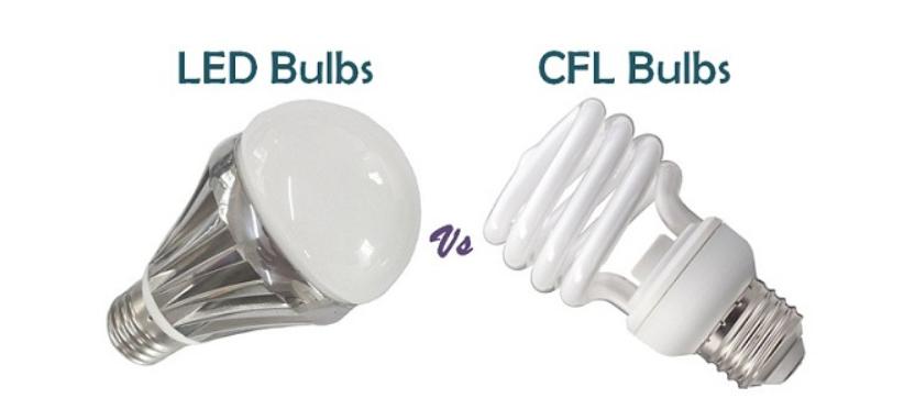 تفاوت لامپ کم مصرف و لامپ ال ای دی