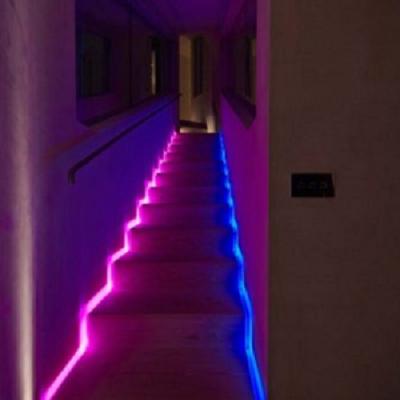 آموزش نورپردازی پله دوبلکس - ایجاد جلوه ای دراماتیک