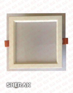 پنل دور شیشه مربع 18 وات SMD شراک