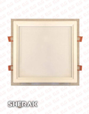 پنل دور شیشه مربع 24 وات SMD شراک