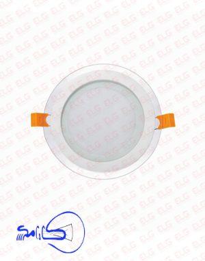 پنل دورشیشه کارامکس 7 وات بدنه آلومینیومی